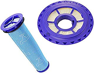 Smartide 1 pack Post Filter & Pre Filter for Dyson DC41 DC65 DC66 Animal, Compatible HEPA Post Filter & Pre Filter. Replaces Part # 920769-01 & 920640-01