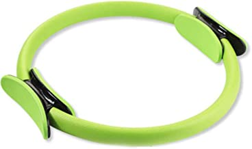 D Pilates Yoga Resistance Ring Dual Grip Handles Fitness Equipment Magic Circle for Toning Thighs Abs and Legs 14