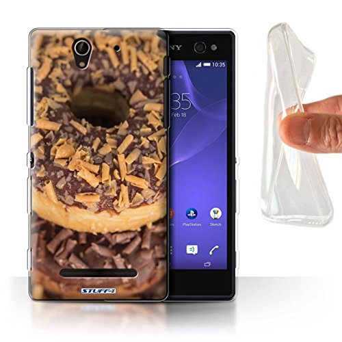 Stuff4 Var voor Sony Xperia C/E/M lekkere donuts Sony Xperia C3 Koffie