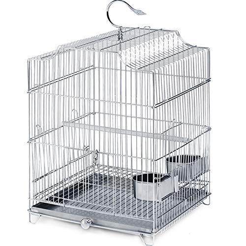 Draagbare Metalen Vogelkooi Papegaai kooi, Vogelkooi voor Kanarie/Liefde Vogel/Papegaai/Rot/Reiskooi