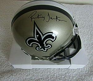 Rickey Jackson Autographed Signed New Orleans Saints Mini Helmet Beckett Coa - Autographed NFL Mini Helmets