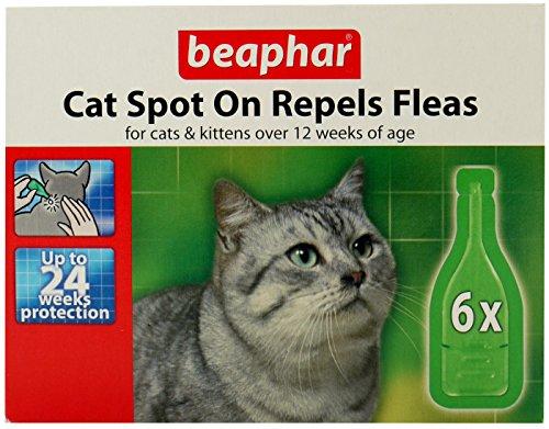 Beaphar Katzen Floh Drops–24Woche protectionpack von 6