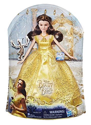 Disney Princess - Bambola La Bella e la Bestia Magica Cantante