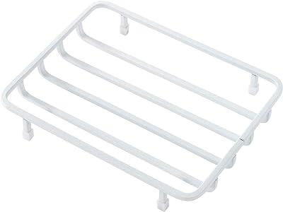 b2c ワイヤー ソープディッシュ(ホワイト)|石鹸置き ホルダー ケース ソープホルダー 石けん皿