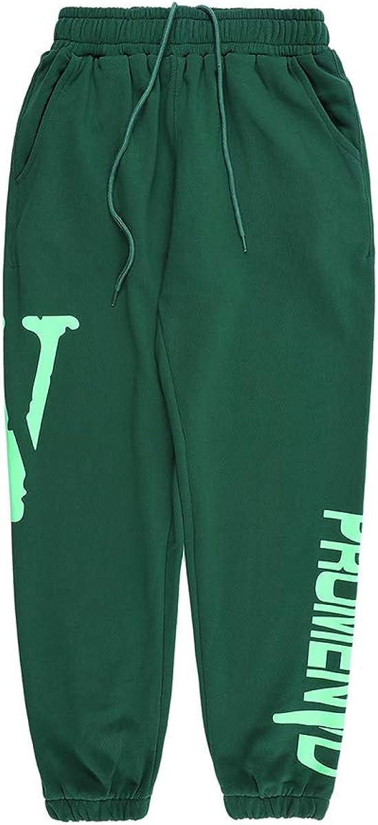 Genuine Arnodefrance V Print service Pants Hip Hop Letter Pocket Yoga Le Jogging