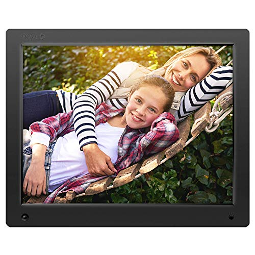 Nixplay Original 15 Inch Digital WiFi Photo Frame W15A - Wall-Mountable Digital Picture Frame with Motion Sensor and 10GB Online Storage, Display and Share Photos with Friends via Nixplay Mobile App