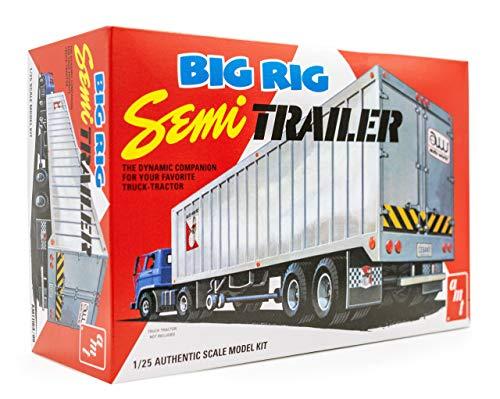 AMT Big Rig Semi Trailer 1:25 Scale Model Kit