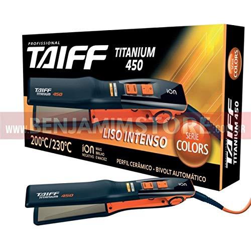 Chapinha Titanium 450 Taiff Série Colors Laranja Profissional Linha Diamante