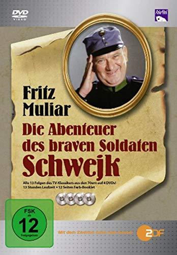 Die Abenteuer des braven Soldaten Schwejk inkl. Farb-Booklet [4 DVDs]