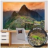 GREAT ART Poster Mural représentant Le Machu Picchu - Style Paysage, Amérique du Sud, Inca, etc. - 140 x 100 - Magnifique décoration