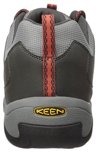 KEEN Oakridge, Chaussure de randonnée Homme, Raven Burnt Ocker, 44.5 EU