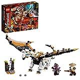Ninjago TV Series Dragón de Batalla Minifiguras del Maestro Wu y Gleck, multicolor (Lego ES 71718)