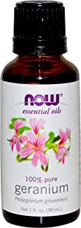Now Foods Essential Oils Geranium 1 fl oz (30 ml)
