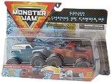 Bizak- Monster jam pack doble 1:64, modelos aleatorios, Color surtido (61925872)
