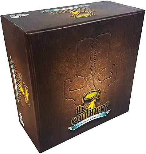 The 7th Continent Classic Edition - Core Box - English Version - Boardgame - Cooperative - 1 to 4 Players - Adventure - Exploration - Survival