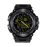 EUTUKEY Men Bluetooth Smart Watch with Profesional Waterproof Support Call and SMS Alert Sports Activities Tracker