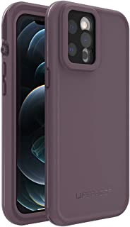 LifeProof FRE Series Waterproof Case for iPhone 12 Pro Max - Ocean Violet (Berry Conserve/Dusty Lavender)