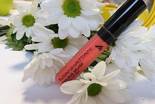 Manhattan Colour Splash Liquid Lip Tint 93C, 1er Pack (1 x 7 ml)