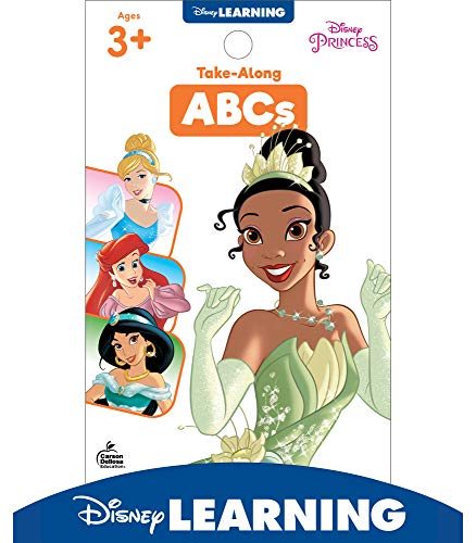 Disney Learning Princess Take-Along Tablet: ABCs—Phonics Activity Workbook for Writing and Tracing Letters, Letter and Sound Recognition, Coloring, ... Ages 3+ (64 pgs) (My Take-Along Tablet)