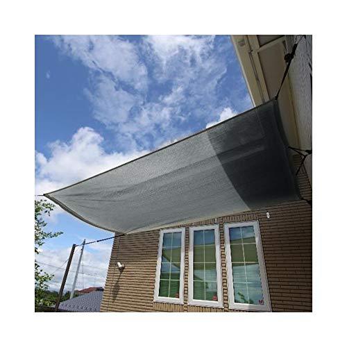 SSRS Protector Solar Toldo de Vela Anti-UV Compartir 85% de la Cubierta de Sombra al Aire Libre Cosido Ribete con Agujero del Metal fácil de Instalar, 17 Tamaños portátil, Duradero