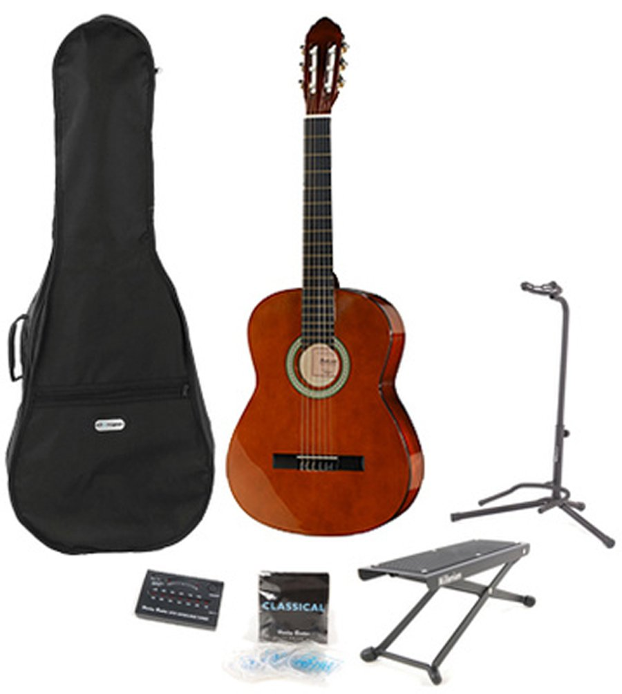 Startone CG851 4/4 Classical Guitar Pack: Amazon.es: Deportes y ...