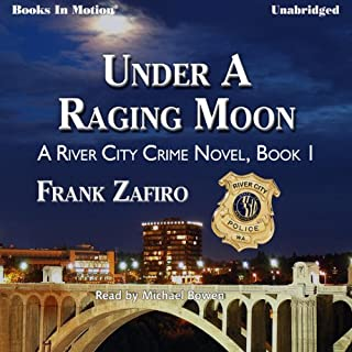 Under a Raging Moon audiobook cover art