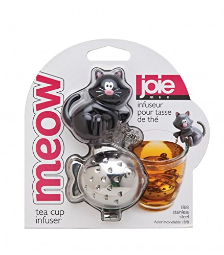 Joie Meow Cat Kitten Tea Cup Infuser (Colors may vary), by Joie