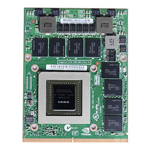 Original 4GB GDDR5 Grafikkarte NVIDIA Quadro K4100M für Dell Precision M6600 M6700 M6800 HP Elitebook 8760W 8770W Mobile Workstation Laptop N15E-Q3-A2 MXM VGA Board Upgrade Ersatzteile