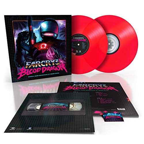 Power Glove - Far Cry 3 : Blood Dragon 2018 Repress 2 x LP Neon Pink Vinyl