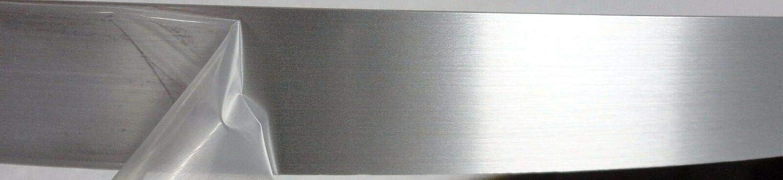 Brushed Aluminum PVC edgebanding 15/16