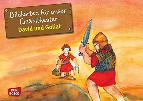 David und Goliat. Kamishibai Bildkartenset. Kamishibai Bildkartenset. Entdecken. Erzählen. Begreifen. Kinderbibelgeschichten. (Bibelgeschichten für unser Erzähltheater)