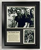 Grateful Dead Collectible | Framed Photo Collage Wall Art Decor - 12'x15' | Legends Never Die