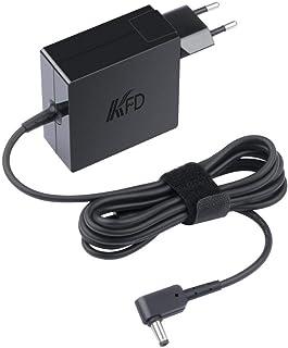 KFD 65W Adaptador Cargador portátil para ASUS VivoBook 15 S512DA X540UB ZenBook 14 UX434FAC S14 S406UA S510UA F556U K540LA K540UA K540UB Flip 14 TP412UA E203NAH X200CA S200E S410UN X540LA 19V 3.42A
