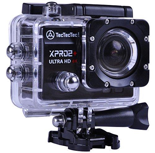 TecTecTec XPRO2+ Action Cam Ultra HD WiFi - Waterproof Video Camera 16 Mp