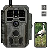 GardePro E8 Trail Camera Wi-Fi Bluetooth 32MP 1296P Fast 0.1S Trigger Speed Motion Activated 100ft Night Vision IP66 Waterproof
