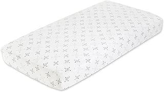 aden + anais Classic Crib Sheet; 100% Cotton Muslin; Super Soft; Breathable; Tailored Snug Fit; Lovestruck - Love