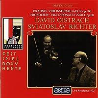 Violin Sonatas by BRAHMS / PROKOFIEV (1998-11-01)