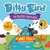 DITTY BIRD Baby Sound Books: Nursery Rhymes Musical Sound Book for Babies is The Perfect Toys for 1 Year Old boy and 1 Year Old Girl Gifts. Educational Childrens Books Ages 1-3 Award-Winning! Blue