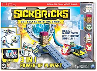 SickBricks 3-in-1 Power up Playset