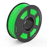 TECBEARS PLA 3D Printer Filament 1.75mm Green, Dimensional Accuracy +/- 0.02 mm, 1 Kg Spool, Pack of 1