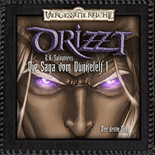 Der dritte Sohn (DRIZZT - Die Saga vom Dunkelelf 1) Titelbild