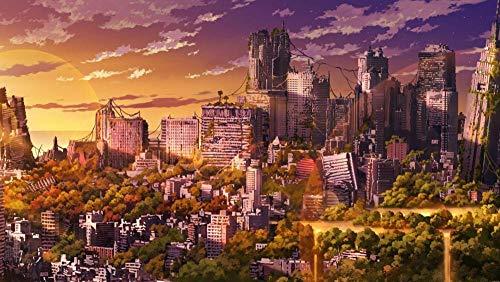 Legpuzzels Voor Kinderen 1000 Stukjes, De Zonsondergang Van De De Stadszonsondergang Van Tokyo In Japan, 1500/1000/500 Stukjes, Puzzel Spelletjes Woondecoratie Cadeaus