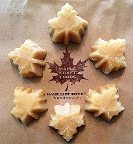 Maple Craft Syrup Candy| Personal-Sized Maple Leaf Candies. Pure Vermont Maple Syrup | 1 Pack (6 Pieces)