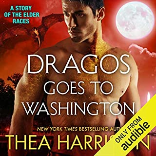 Dragos Goes to Washington     Elder Races              By:                                                                                                                                 Thea Harrison                               Narrated by:                                                                                                                                 Sophie Eastlake                      Length: 4 hrs and 22 mins     555 ratings     Overall 4.7