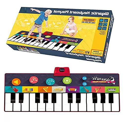 Klaviertanzmatte Kindertanzmatte Musikmatte-Buchstabe Und Nummer Step Pad Teppich Spielmatte Für Kinder Jungen Und Mädchen Kleinkind Urlaub Geburtstagsspielzeug