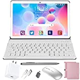 Tablet 10.1 Inch, Android 10.0 Pie Quad-Coree Tablet+Keyboard with 4GB RAM 64GB ROM,1920 x 1200 IPS HD Display,4G WiFi 5MP and 8MP Cameras DUODUOGO P6 (10 inch, 4 GB RAM and 64 GB ROM, Pink)