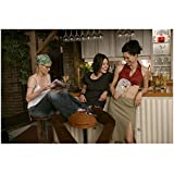 The L Word Alice, Shane, and Marina Sitting Near Bar...