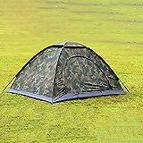 Tente Pliante de Camouflage de Tente de Camping extérieur portative de Pgige pour la randonnée (Camouflage)