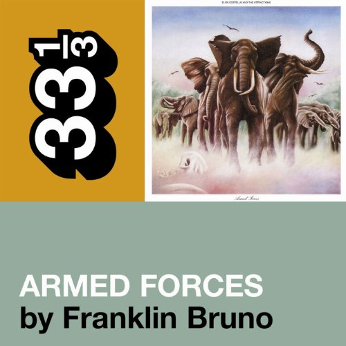 Elvis Costello's 'Armed Forces' (33 1/3 Series) audiobook cover art