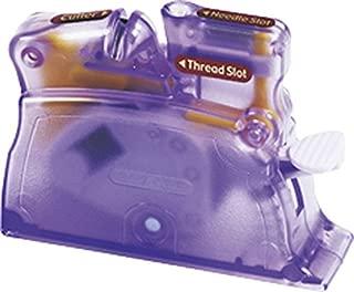 CLOVER 4071 Desk Needle Threader, Purple